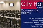Community Rooms at City Hall